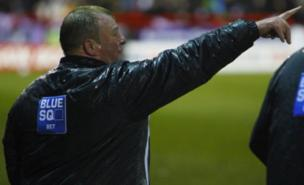 Steve Evans expected a Crawley win (PA)