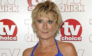 Eastenders' Shirley Carter is to become Mrs Mitchell (Allstar)