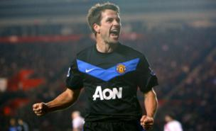 Michael Owen scored Manchester United's equaliser (PA)