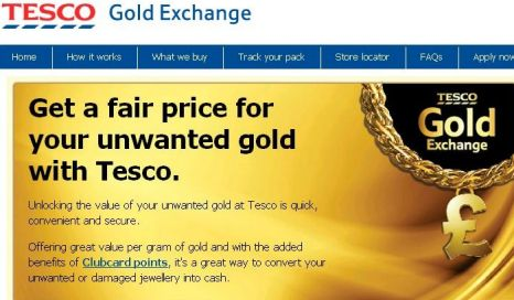 Tesco gold