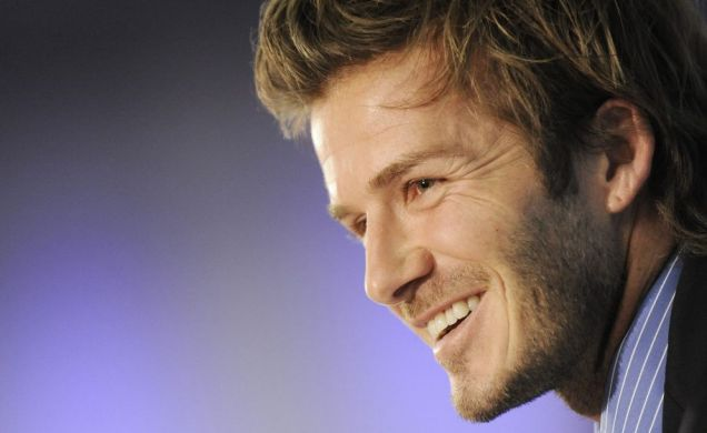 Jack Wilshere believes David Beckham will add something to the Arsenal squad (EPA)