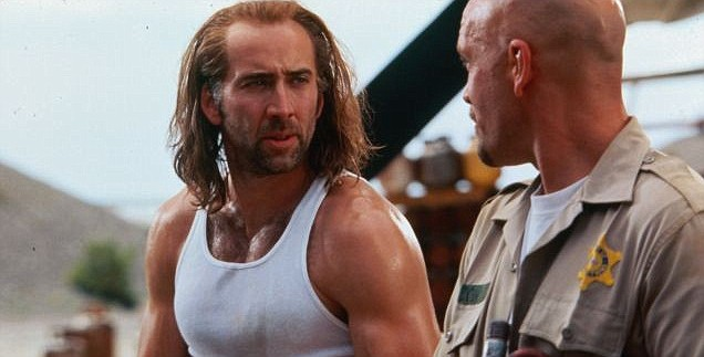Nicolas Cage in the 1997 film Con Air