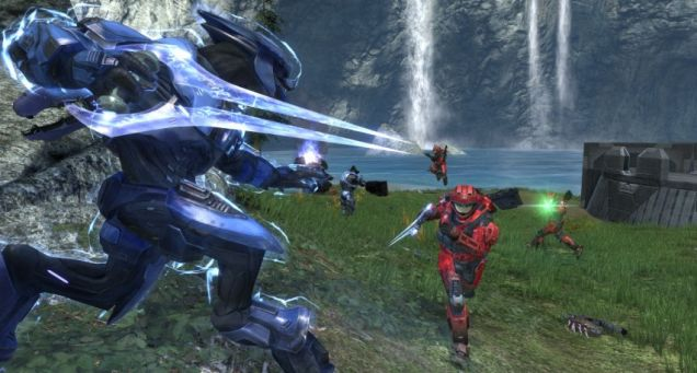 Halo: Reach - computer opponents are still no match for the real thing