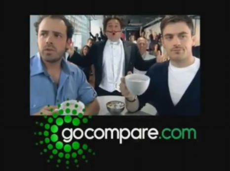 The Go Compare advert has been voted the most irritating for the second year running