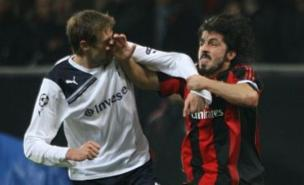Gennaro Gattuso shows his skills in the first leg (PA)