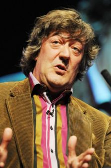 Stephen Fry QI Row