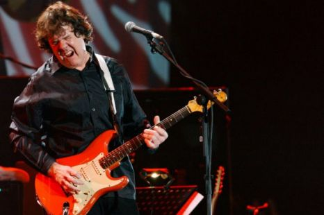 Inspirational: Twitter fans have paid their tributes to Gary Moore
