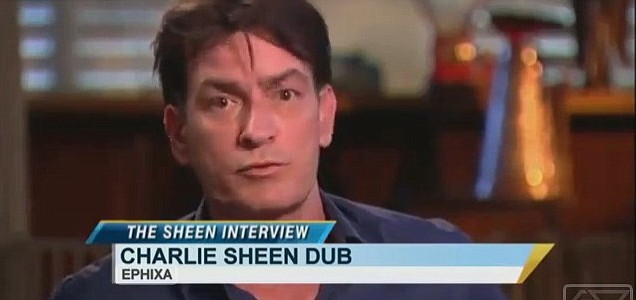 The Charlie Sheen dubstep mix has taken YouTube by storm