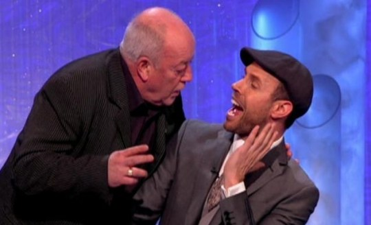 Tim Healy confronts Jason Gardiner Dancing On Ice