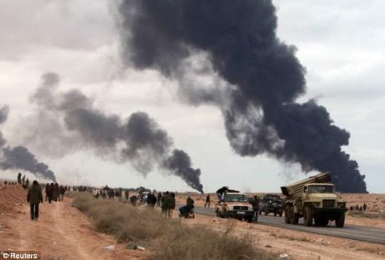 Gaddafi Libya rebels