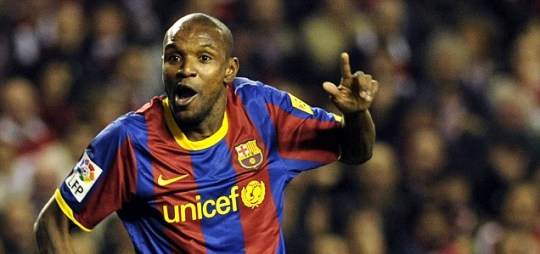 Barcelona's Eric Abidal has been diagnosed with a liver tumour