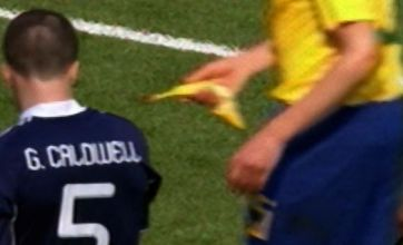 Neymar claims of racist Scotland fans 'backed up' by banana video