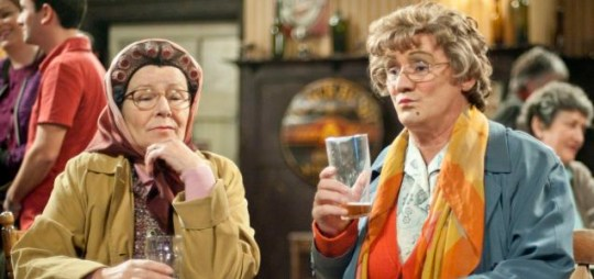 Mrs Brown's Boys: last of the series (Pic: BBC)
