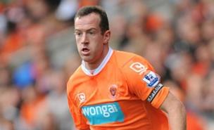 Blackpool's Charlie Adam could be on his way to Liverpool, if they stump up enough cash. (PA)