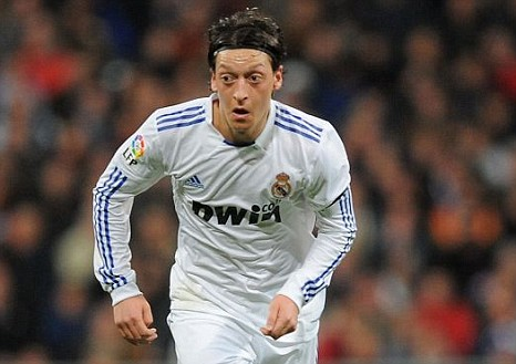 Mesut Ozil has proved to be the star of Real Madrid's midfield this season