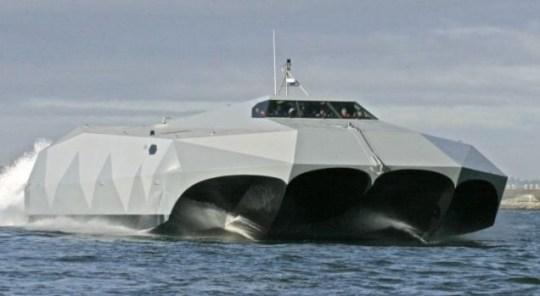 Stiletto Stealth drug boat