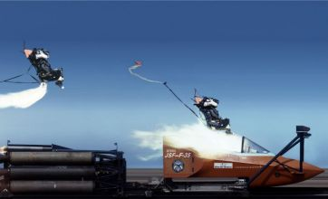 Amazing video: F-35 ejector seat trial at over 600mph