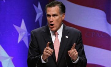 Presidential hopeful Mitt Romney in 'hang Barack Obama' gaffe