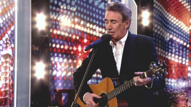 Herbie Armstrong impressed on Britain's Got Talent (Pic: ITV)