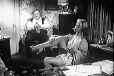Yvette Vickers in Attack Of The Giant Leeches