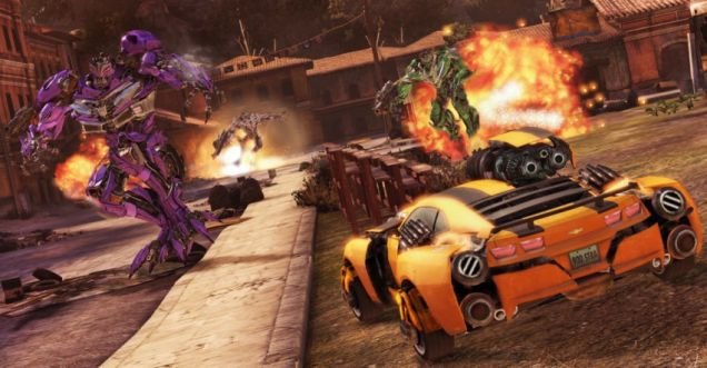Transformers: Dark Of The Moon – we're not sure what's so stealthy about a giant rocket launcher on your roof
