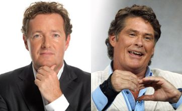 Piers Morgan v David Hasselhoff: Celebrity Face Off
