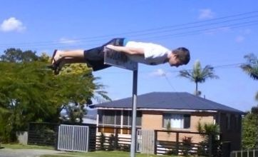 Facebook 'planking' craze under fire in Australia after arrest