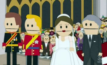 South Park take on Kate and Wills in royal wedding spoof episode