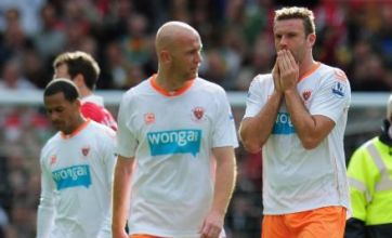 Blackpool and Birmingham relegated from Premier League
