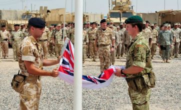 Last British troops withdraw from Iraq