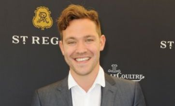 Will Young is fashion disaster at celeb-studded polo match