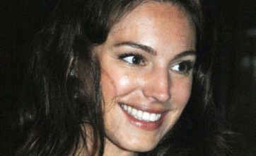 Kelly Brook puts on brave face on first night out since miscarriage