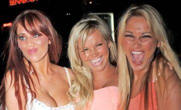 TOWIE girls party in Marbella, but Lauren Goodger sweats on ash cloud