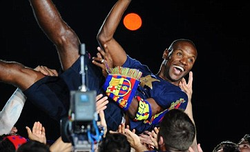Barcelona look to Eric Abidal for Wembley inspiration