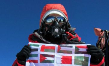Suzanne al-Houby becomes first Arab woman to scale Mount Everest