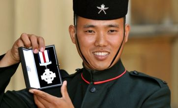 Gurkha soldier honoured by Queen after killing 30 Taliban