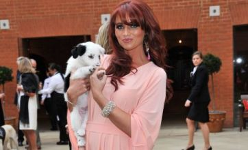 TOWIE's Amy Childs and a puppy: Caption Competition