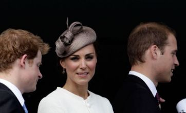 Kate Middleton and Prince William show gran their support at Epsom