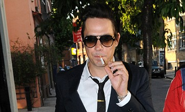Jamie Hince left drenched on his stag do ahead of wedding to Kate Moss