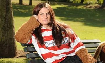 Doncaster Rovers mascot reinstated after sexy underwear calendar shoot