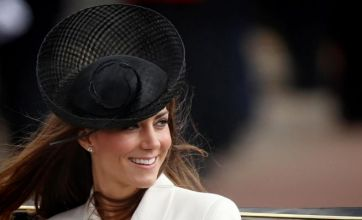Kate Middleton goes monochrome for first Trooping The Colour ceremony
