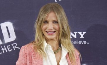 Cameron Diaz: Sliding around on a wet car is very dangerous