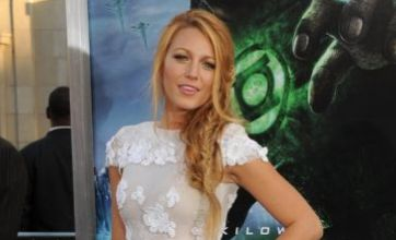 Blake Lively wears see-through dress to Green Lantern premiere