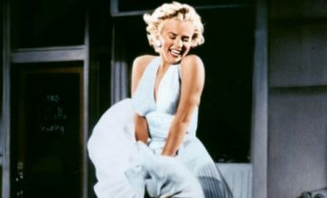 Marilyn Monroe's windy dress from The Seven-Year Itch sells for £2.8m