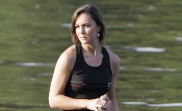 Kate Middleton to climb back into dragon boat to race William in Canada