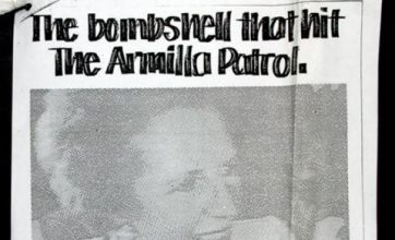 Margaret Thatcher sank Navy poster portraying her as 'bombshell' weapon