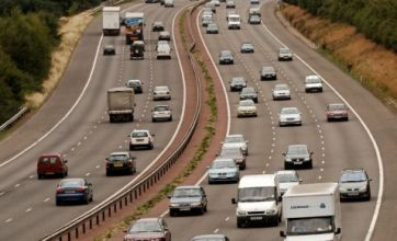 Woman dies while trying to retrieve items on M40 motorway