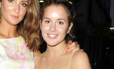 Made In Chelsea's Caggie Dunlop in a plunging white dress: Dare to Wear?