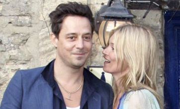 Kate Moss, Jamie Hince in pre-wedding clinch: Caption Competition