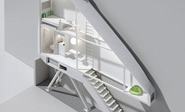 Polish architect designs world's narrowest house – just 60 inches wide